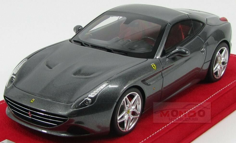 Ferrari California T Spider Closed Roof 2014 grigio Met MR Models 1 18 MRFE011E