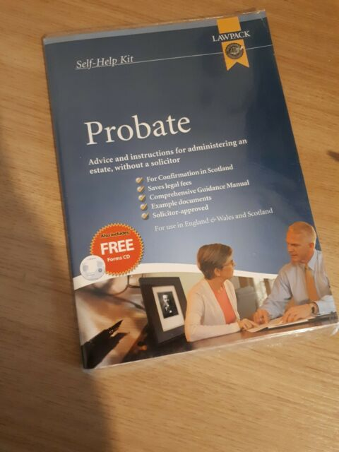 Probate Kit, new and sealed
