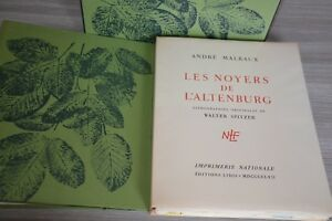 ANDRE-MALRAUX-LES-NOYERS-DE-L-039-ALTENBURG-LITHOGRAPHIES-ORIGINALES-DE-SPITZER