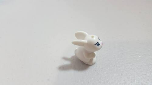 New Part 11821 98387pb01 Element 6017059 Lego White Bunny Rabbit
