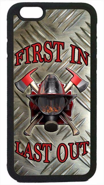 Firefighter Fireman Fire Helmet Case Cover for iPhone 4 4s 5 5s 5c 6 6 Plus
