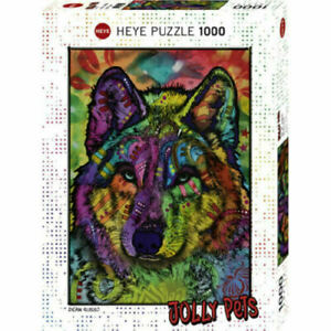 Heye-Puzzles-1000-Pieces-Jigsaw-Puzzle-Wolf-039-s-Soul-HY29809
