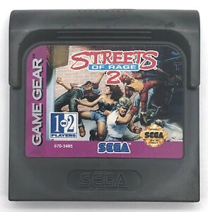 Streets-Of-Rage-2-Sega-Game-Gear-1993-Cartridge-Only-Tested-amp-Works