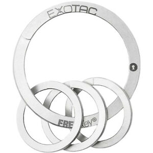 Exotac-FREEKey-Slim-System-Easy-to-Use-Key-Ring-and-Three-Mini-Key-Rings