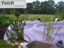 10 m² Schutzvlies 2,47€//m² Flies Teich 500g m² Teichvlies Teichbau Gartenteich