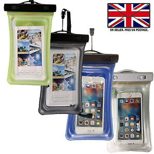 uk availability ab6c6 bb7c5 Details about WATERPROOF FLOATING DRY BAG POUCH CASE MONEY KEYS CARDS For  Alcatel 7
