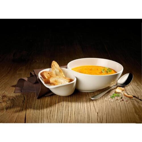 Soupes Coque avec brothalter grand 2 pcs 28x17 v/&b Soup Passion VILLEROY /& BOCH