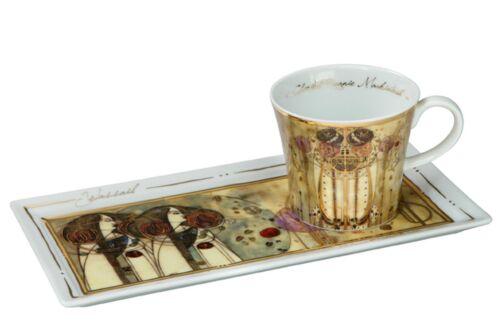 GOEBEL PORZELLAN - Kunst & Kaffee - Charles Mackintosh - Zusammenkunft - NEU !