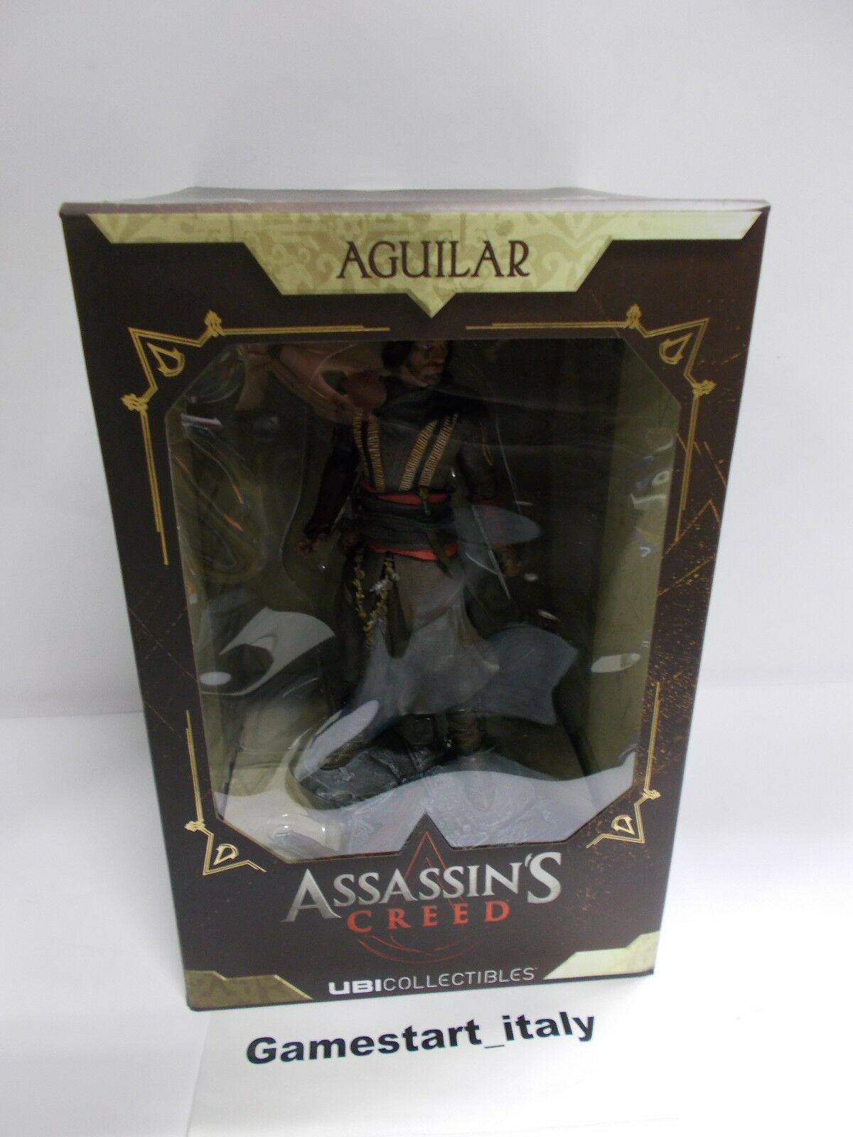 ACTION FIGURE ASSASSIN'S CREED FILM - AGUILAR - UBISOFT UBICOLLECTIBLES - NEW