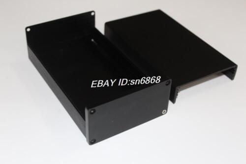B0905 black Full Aluminum Enclosure //mini amplifier case//Preamp box//PSU chassis