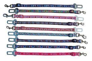 Azul-Rosa-Morado-CONGELADOS-Perro-Pequeno-Cachorro-SEGURIDAD-COCHE-Cinturon-De