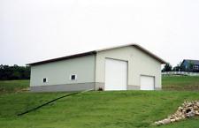 36x48x12 Steel Building Kit Simpson Metal Garage Workshop Prefab Structure