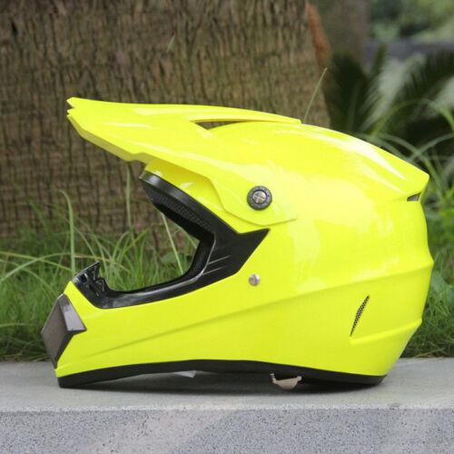 S-XL Motorcycle Off-Road Motorcross Racing Dirt Bike Star Helmet Safety DOT FS