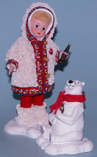 """Details about  /Madame Alexander resin figurine /""""Off to the North Pole/"""" #91520 polar bear"""