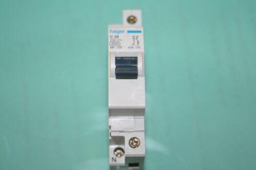 Disjoncteur c25  hager  Borne décalée MF725
