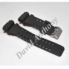 (A) 16MM PU RUBBER STRAP Fits Casio G-Shock Watch. GA-100 G-8900 GW-8900 GLS-100