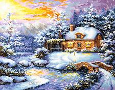 Cross Stitch Kit Winter's tale