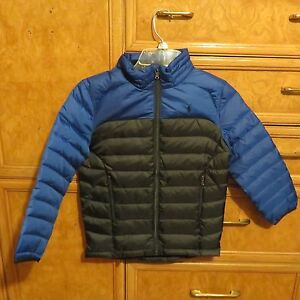 bright n colour skilful manufacture a great variety of models Details about Boys Polo Ralph Lauren puffer down jacket fall winter coat  blue size 4 NWT $135