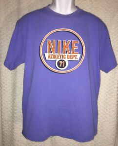 527b1274a1519 Details about 90s vintage Nike Athletic Department T-Shirt Size Adult Medium