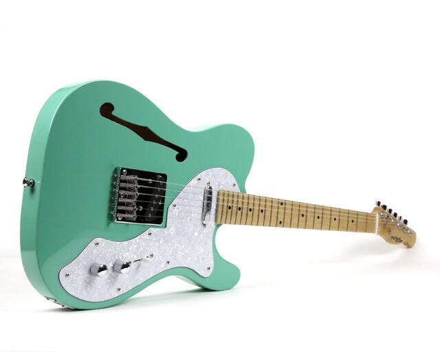 TLG-2SG Thinline Electric Guitar - Seafoam Green