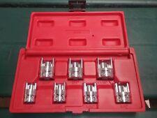 Mac Tools Sx07t 7 Pc 38 Drive Weatherhead Socket Set