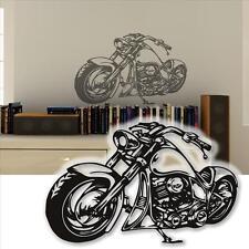 Wandtattoo Harley Wandsticker Motorrad Custom Bike   Tattoo für die Wand   90cm