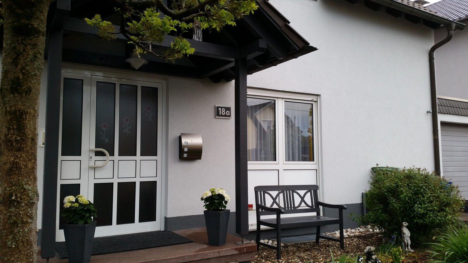 Hausnummer Edelstahl Schwarz Exklusives Exklusives Exklusives Design Verona V2A 0-9 a-h A-H | Schön  | Offizielle Webseite  | Modern Und Elegant In Der Mode  e9abf6