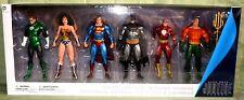 ALEX ROSS JUSTICE LEAGUE 6-PACK DC Collectibles Superman Flash Batman Wonder