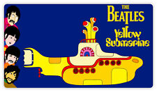 "The Beatles Yellow Submarine cartoon sticker decal 6"" x 3"""