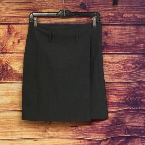 Gucci Silk/Wool Blend Grey Mini Pencil Skirt