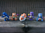 "thumbnail 7 - CUSTOM PAINT Lot of 5 Vintage UK Care Bear Characters 2"" Mini Figures  Daydream"