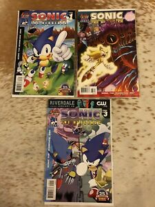 Sonic-The-Hedgehog-Issues-287-288-amp-290-FINAL-ISSUE-Comic-Books-Archie