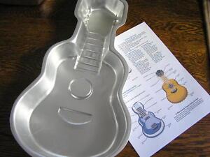 Guitar cake pan | wilton.