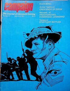 "Vintage ""Campaign"" #97 Magazine 1980 Tactics in Star Fleet Battles"