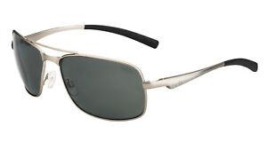 1e6ffa9e4b Bolle Skylar Men s Polarized Sunglasses Made In Italy Satin Silver ...
