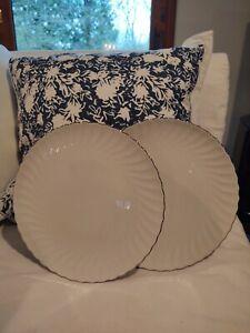 Syracuse China WEDDING RING 2 Dinner Plates