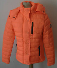 BB London MT Fuji Damen Winter Puffer Weste Reißverschluss