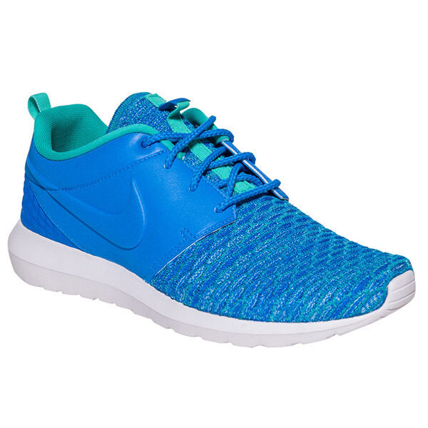 Nike - < Roshe uno Flyknit Prima < - 746825-400 > Hombre us 9 ~ / Brand New in Box c6aeea