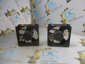 COMAIR ROTRON MUFFIN-XL MX2A3 115 V 0.20/0.18 A 50/60 HZ CASE FAN LOT OF 2