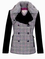 Jack Murphy Shetland Wool Ladies Ebony Tweed Jacket Size 10,12,14,16,18.