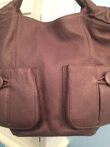 Image Is Loading Bodhi Designer Deep Dark Purple Handbag Shoulder Bag