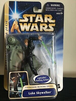 Luke Skywalker Throne Room Duel 2003 STAR WARS The Saga Collection #17