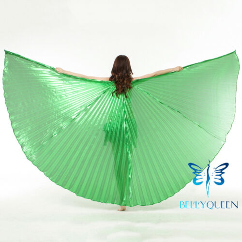 USA Egypt Belly Dance Costumes Isis Wing Professional Indian Open//Closed