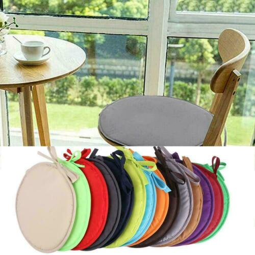 Indoor Dining Garden Patio Home Kitchen Round Chair Seat Decor Pads Cushion Q7A1