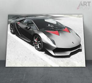 image is loading lamborghini sesto elemento sports car framed canvas art