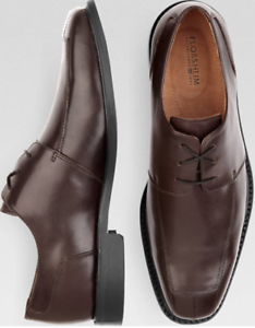 New in Box Florsheim Ashlin Burgundy Lace-Up dress shoes size 8.5 D