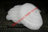 Sbm Gutter Brush/guard/ Leaf Filter - 100mm Diameter X 4m To 80m Length - White