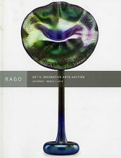 Rago Catalog - 20th C. Decorative Arts - Stickley Handel Jarvie Tiffany Lalique
