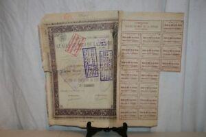 Ancienne Action Glaces Du Midi De La Russie De 1899. 3cgiupka-07223749-794132058