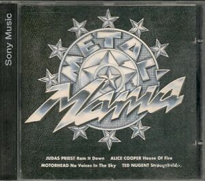 CD-COMPIL-16-TITRES-METAL-MANIA-PRONG-BONHAM-FIREHOUSE